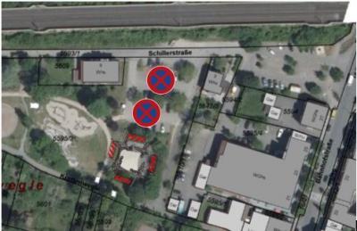 """Vorschaubild zur Meldung: Sperrung der P+R Parkplätze """"Talaue"""" am 09. und 10.12.2019"""