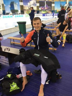 Stefan Emele nach Platz 6 in der B-Gruppe über 1500 m. Foto: Team