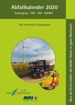 Vorschaubild zur Meldung: Ab Mitte Dezember in Ihrem Rathaus: der neue Abfallkalender für Oberhavel