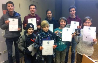 Vorschaubild zur Meldung: Erfolgreiche Teilnahme an der Mathematik-Olympiade