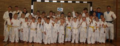 Freude bei der Judo-Sparte