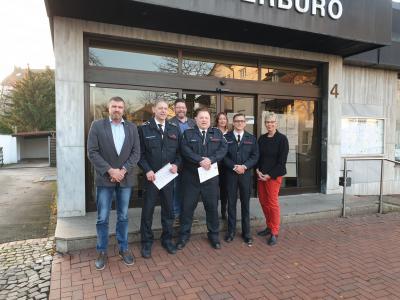 Foto zur Meldung: Ernennung der stellvertretenden Leiter der Freiwilligen Feuerwehr Holzwickede