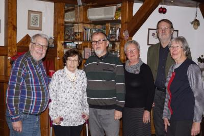 Die Autoren (von r.) Ch. Beyer, R. Pappai, R. Rohark, A. Balzer, B. Balzer, D. Tietz Es fehlen: R. Aleithe und K. Pagel Foto: Thomas Hübscher