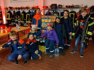 Foto zur Meldung: Weihnachtsfeier für unseren Feuerwehr-Nachwuchs