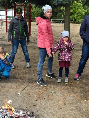 Foto zur Meldung: Herbstprojekt mit den Vorschulkindern