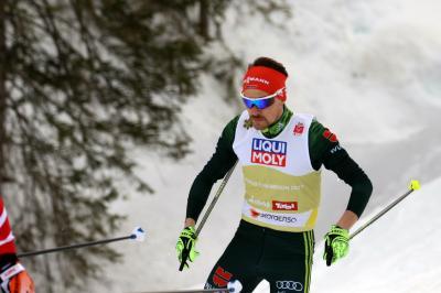 Fabian Rießle schaffte im Olympiaort Lillehammer mit Rang drei seine erste Podestplatzierung des neuen Skiwinters - Foto: Joachim Hahne
