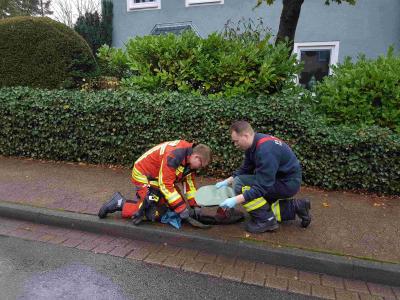 Feuerwehren überprüfen erfolgreich die Hydranten.