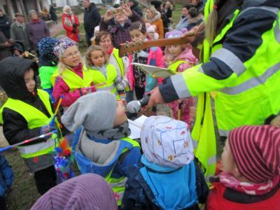 """Foto zur Meldung: Laternenfest in der Kita """"Lummerland"""""""