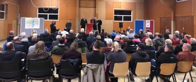 Foto zur Meldung: Gut  besuchter Gemeindeabend in Bahrdorf