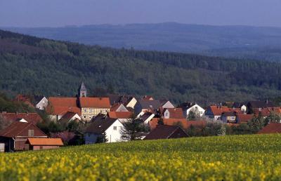 Foto zur Meldung: In der Dorfchronik von Holzhausen (1911) wird berichtet: