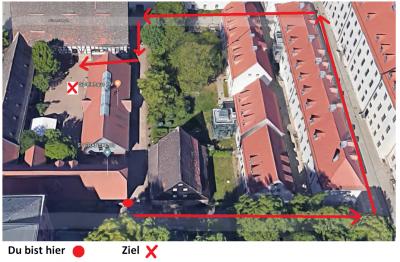 Foto zur Meldung: Neuste Info zur Baustelle Bewegungshaus