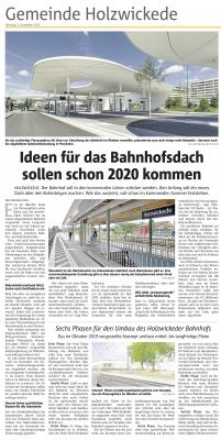 Vorschaubild zur Meldung: Ideen für das Bahnhofsdach