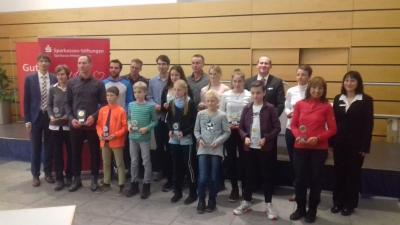 Foto zur Meldung: Ergebnisse - 8. Laufcup der Sparkassen-Stiftung für Jugend und Sport