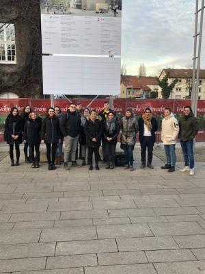 Foto zur Meldung: Studentischer Besuch von der TU Dortmund