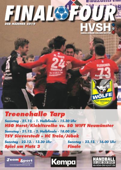 Vorschaubild der Meldung: HVSH Final 4 in Tarp: TSV Sieverstedt I ist dabei
