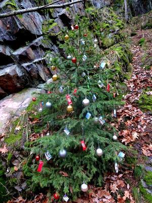 Weihnachten am Mittelpunkt von Sachsen