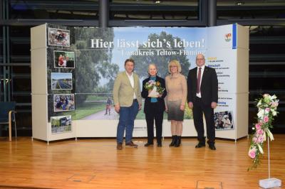 Foto zur Meldung: Feierstunde zum Tag des Ehrenamtes im Kreishaus in Luckenwalde