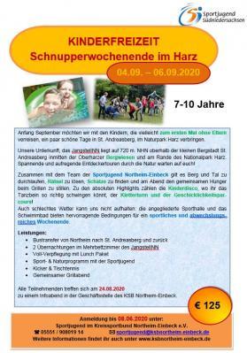 Kinderfreizeit_St. Andreasberg2020