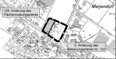 Änderung B-Plan Nr. 122 und F-Plan Nr. 129