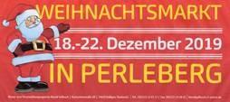 Banner zum Perlebeger Weihnachtsmarkt