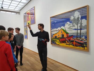 Vorschaubild zur Meldung: Schüler*innen des GESP machen moderne Kunst hörbar