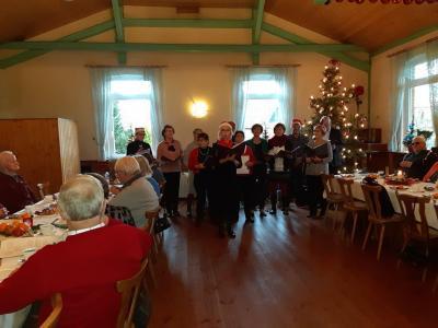 Foto zur Meldung: Seniorenweihnachtsfeier 2019 in der Gemeinde Sülstorf