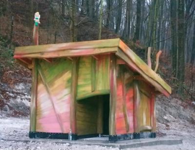 Wildschweinhütte