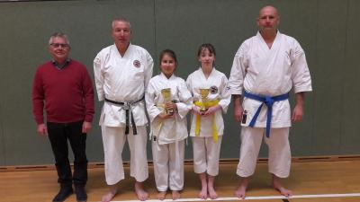 Foto zur Meldung: Karatekids mit dem Nachwuchspreis geehrt