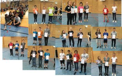 Foto zur Meldung: 3. Platz in der Schulwertung beim Hochsprung der Stralsunder Schulen