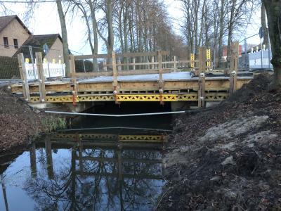 Vorschaubild zur Meldung: Sanierung der Haydnbrücke