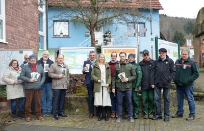 Bild der Meldung: Neue Spessartspur in Flörsbachtal Lohrhaupten eröffnet