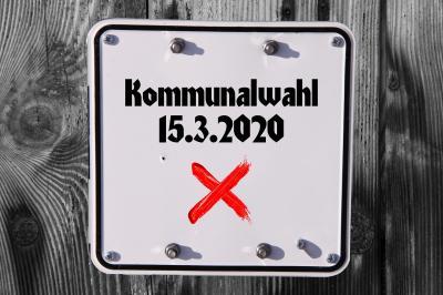 Kommunalwahlen 2020 in Bayern