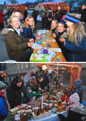 Vorschaubild zur Meldung: Magnet Weihnachtsmarkt im Dienste einer guten Sache – Schützenhilfe aus der Kurstadt