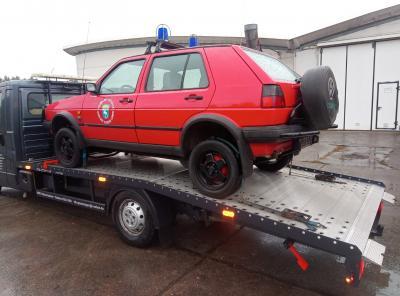 Foto zur Meldung: Zwei neue Fahrzeuge für die Feuerwehr beschafft