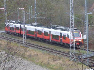 Vorschaubild zur Meldung: Sassnitz begrüßt den ersten Zug der ODEG