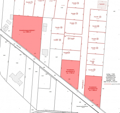 Foto zur Meldung: Investor gesucht - Ausschreibung von Baugrundstücken in der Hafenstraße, Großräschen