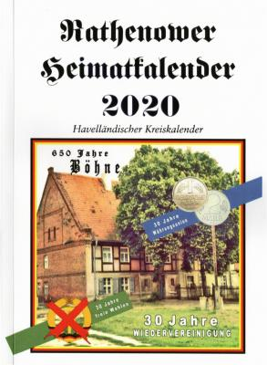 Rathenower Heimatkalender 2020