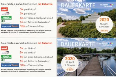 Foto zur Meldung: Dauerkarten Optikpark Rathenow