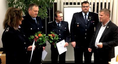 Foto zur Meldung: Neue Führung der Jugendfeuerwehr