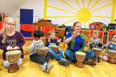 Vorschaubild zur Meldung: Musik ist für alle Kinder da - JeKits an unserer Schule