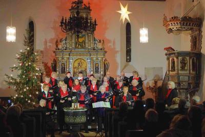 Foto zur Meldung: Weihnachtskonzert in der Sankt Annen Kirche Zinndorf