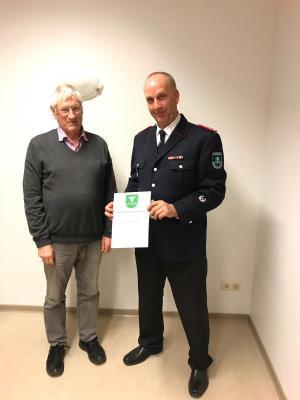 Foto zur Meldung: Wehrführer Ulf Glismann erneut für 6 Jahre weiter im Amt