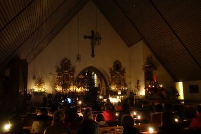 Foto zur Meldung: Bei der Nacht der Lichter besinnliche Momente im Kerzenschein
