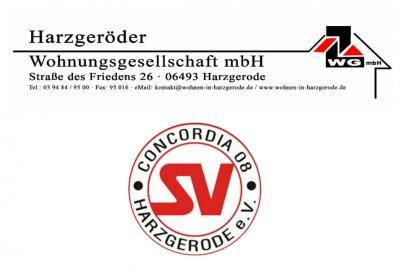 Vorschaubild zur Meldung: Concordia findet bei der Harzgeröder Wohnungsgesellschaft Unterstützung