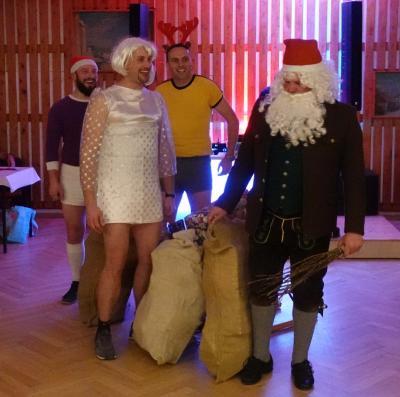 Foto zur Meldung: Weihnachtsfeier Feuerwehr Linda + SV-Linda