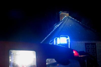 Vorschaubild zur Meldung: Einsatz: Schornsteinbrand in einem Einfamilienhaus