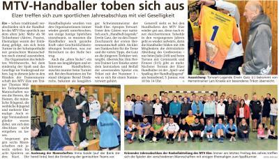 Auszug aus der Leine-Deister-Zeitung vom 31.12.2019
