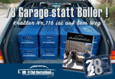 /8 Garage Nr.116 mit Jahreskalender 2020