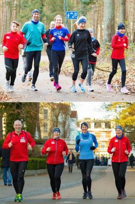 Die Fotos zeigen Laager Läuferinnen und Läufer in Zinnowitz. Fotos: Ralf Sawacki