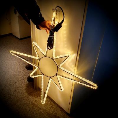 Foto zur Meldung: Neue Weihnachtsbeleuchtung für Nauheim ab 2020
